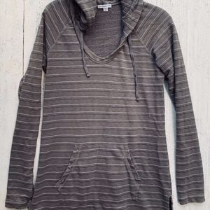 James Perse Pullover Tunic Hoodie